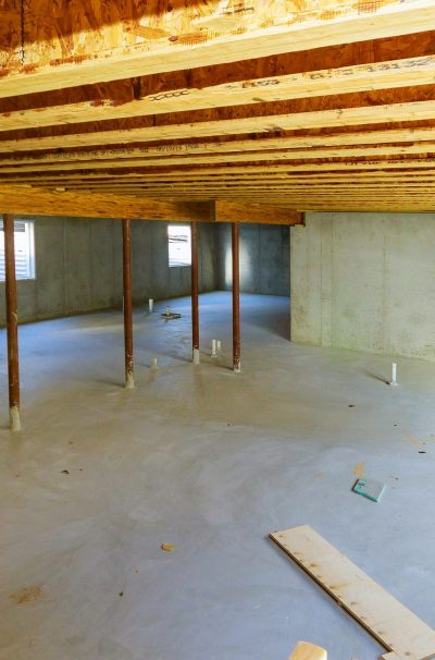 New Residential Construction Home Framing Electrician Power Supp