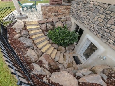 Steps Leading Down To A Basement Apartment